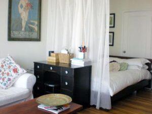 κουρτίνα για διαχωρισμό δωματίου