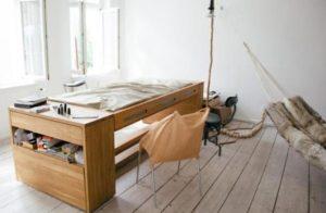 έπιπλο για πολλές χρήσεις για υπνοδωμάτιο