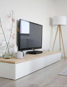 μοντέρνο έπιπλο για την τηλεόραση