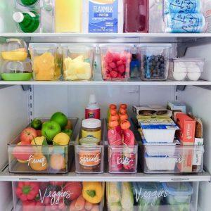 οργάνωση ψυγείου ετικέτες