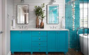 γαλάζιο μπάνιο