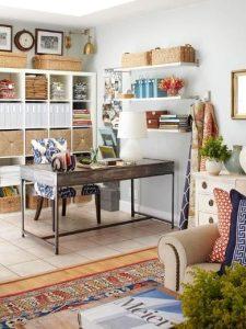σαλόνι με γραφείο