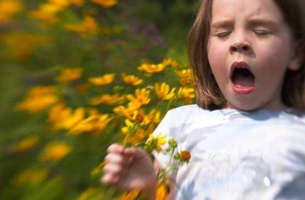αλλεργία λουλούδια άνοιξη