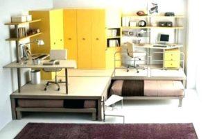 εφηβικό υπνοδωμάτιο με γραφεία