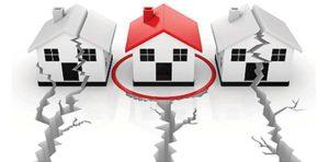 σπίτια με ρωγμές