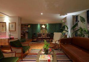 πράσινος τοίχος σπιτιού