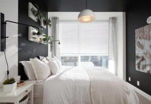 ασπρόμαυρο υπνοδωμάτιο