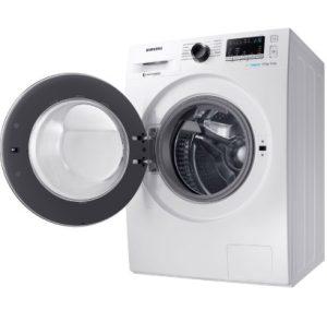 καθαρισμός της λαστιχένιας τσιμούχας που βρίσκεται στο στεφάνι σφράγισης της εισόδου του πλυντηρίου
