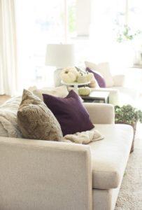 μαξιλάρια σε φθινοπωρινές αποχρώσεις