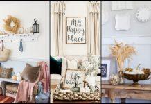 όμορφες ιδέες για φθινοπωρινή διακόσμηση του σπιτιού