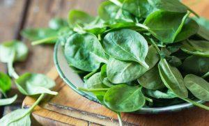 σπανάκι φύτεμα λαχανικά