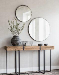 στρογγυλοί μοντέρνοι καθρέφτες