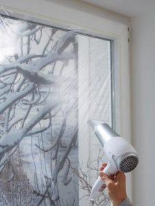 θερμομονωτικό φιλμ παραθύρου για προστασία από τις καιρικές συνθήκες