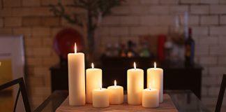 Κεριά σε διάφορα μεγέθη
