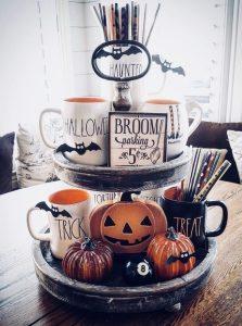 δίσκος με θεματική το Halloween