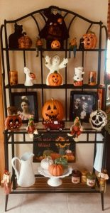 Halloween ραφιέρα