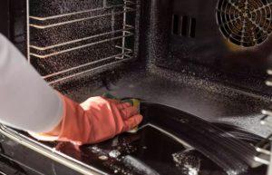 καθαριότητα φούρνος