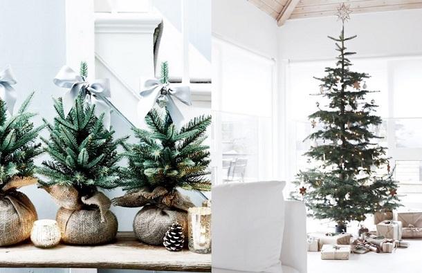 minimal χριστουγεννιάτικη διακόσμηση 2019