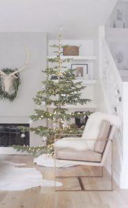 μίνιμαλ χριστουγεννιάτικο δέντρο