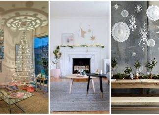 μοντέρνα χριστουγεννιάτικη διακόσμηση σπιτιού 2019