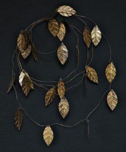 στεφάνι με φύλλα