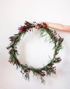 στεφάνι χριστούγεννα