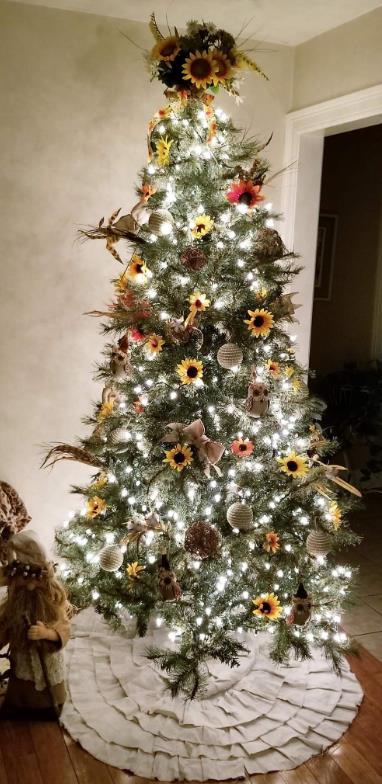 Δέντρο με λαμπάκια