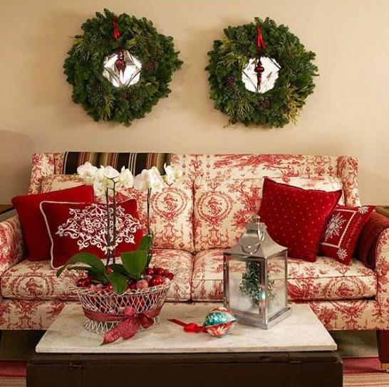 Χριστουγεννιάτικος καναπές
