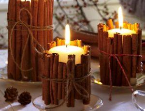 αρωματικά κεριά διακόσμηση