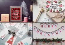 DIY Χριστουγεννιάτικες ιδέες διακόσμησης