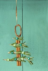 diy χριστουγεννιάτικο στολίδι δέντρο