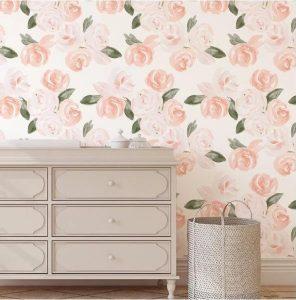 φλοράλ διακόσμηση τοίχου