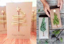 πως να φτιάξεις μόνος σου Χριστουγεννιατικες κάρτες