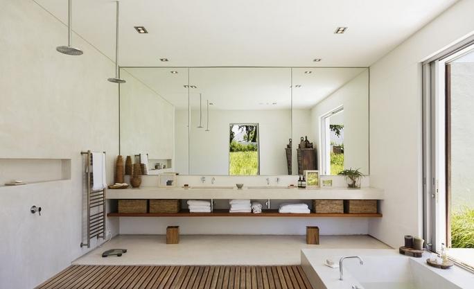 Καθρέφτες στο μπάνιο