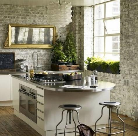 Καθρέφτης στην κουζίνα για καλό φενγκ σούι