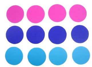 Κύκλοι για στολίδια από χαρτί