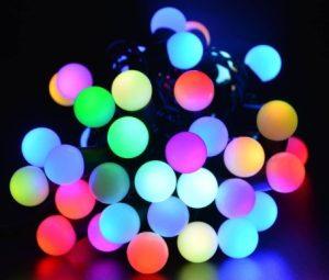 led λαμπάκια τύπου μπάλα