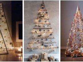εναλλακτικά χριστουγεννιάτικα δέντρα