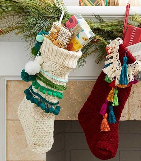 χριστουγεννιάτικα trends: Πλεκτές κάλτσες