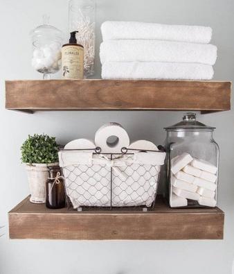 Ράφια για να οργανώσεις το μπάνιο