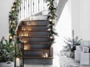 σκανδιναβική διακόσμηση Χριστούγεννα