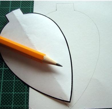 Σχήμα φύλλου για στολίδια
