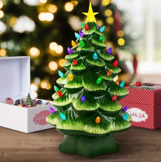 χριστουγεννιάτικα trends: βίντατζ διακόσμηση