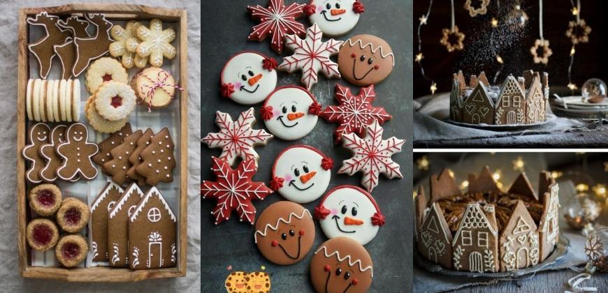 χριστουγεννιάτικα μπισκότα για να φτιάξεις στο σπίτι σου