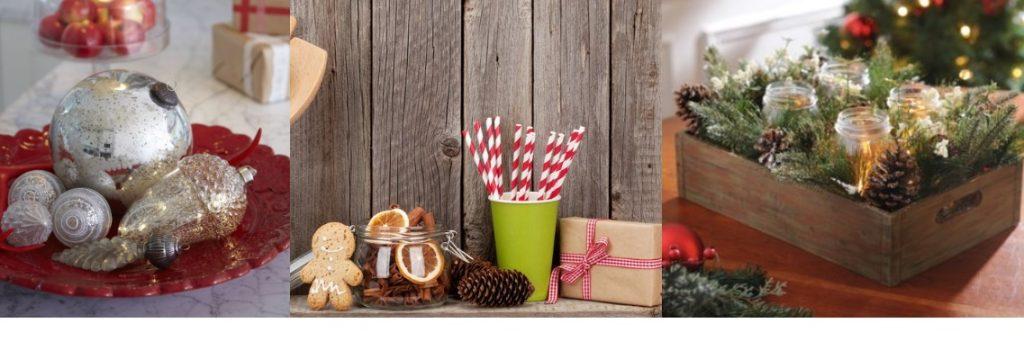 ιδέες για χριστουγεννιάτικη διακόσμηση στην κουζίνα