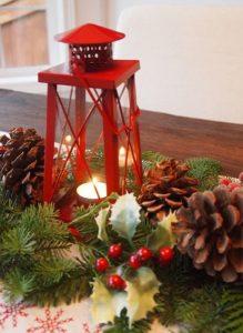 vintage χριστουγεννιάτικες ιδέες διακόσμησης