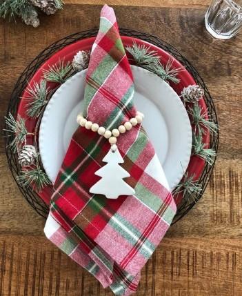 χριστουγεννιάτικες χαρτοπετσέτες