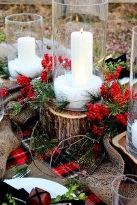 χριστουγεννιάτικη διακόσμηση αυλής