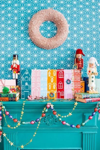 χρωματιστή χριστουγεννιάτικη διακόσμηση λάθη