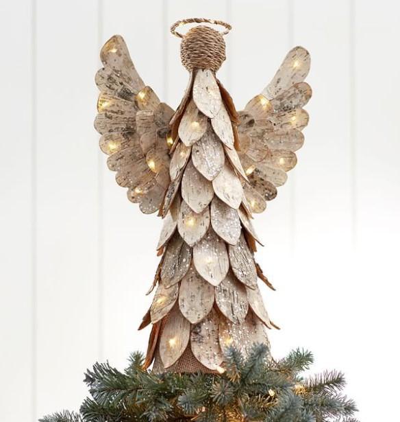 πρωτότυπο αγγελάκι κορυφές χριστουγεννιάτικο δέντρο